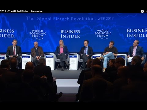 DAVOS 2017 Bitcoin Discussion Highlights, The Global Fintech
