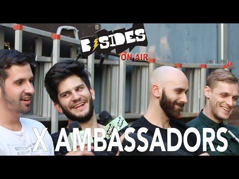 "B-Sides On-Air: Interview - X Ambassadors Talk ""Renegades"", VHS, Groupies"