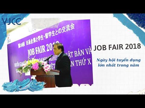 HTV đưa tin sự kiện JobFair 20 - ngày hội tuyển dụng lớn nhất trong năm được tổ chức bởi viện VJCC