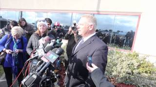 Doug Ford has opted not to enter the race for the Progressive Conservative leadership.