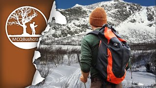 Hunting on Cross Country Skis in the Mountains