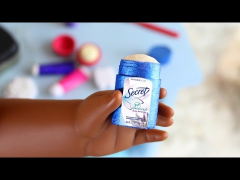 Doll Deodorant DIY | How to Make American Girl Doll Deodorant Stick
