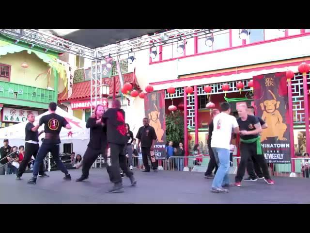 Shaolin Day Demo L.A.