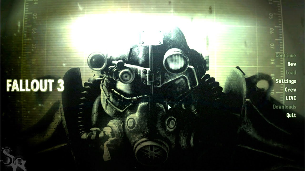 Fallout 3 Pc Starting A New Game Youtube