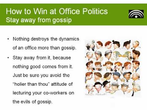 dealing with office politics 17 good dealing with office politics tips from vkoolcom will guide you to win at office politics without selling your soul.
