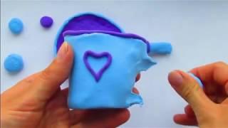 посуда из пластилина. Легкий пластилин видео для детей