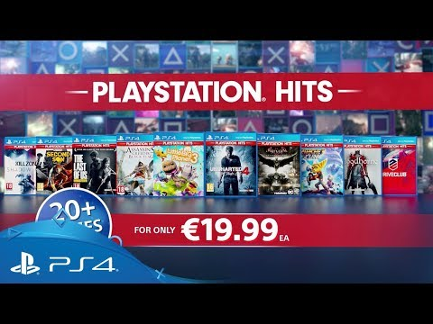 PlayStation Hits | Launching 18th July