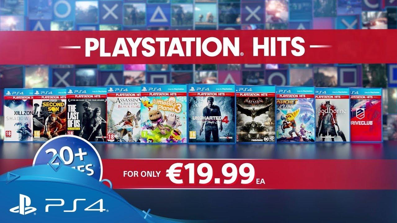 PlayStation Hits   Launching 18th July