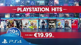 If you've missed out on playing some of the most acclaimed PlayStation 4 games of recent years then we have exciting news for you. On 18th July we're launching the PlayStation Hits range, a selection