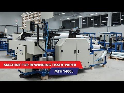 Auto Trade - Machine for rewinding tissue paper MTH 1400L