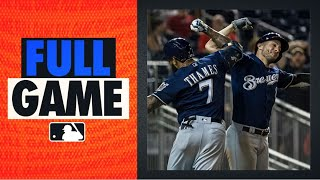Brewers, Nationals duke it out in EPIC 15-14 14-inning game! (8/17/19) | 2019 FULL GAME