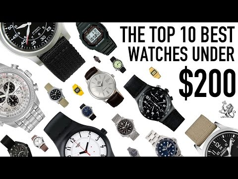 Top 10 Best Value For Money Watches From $50 to $200 - Seiko
