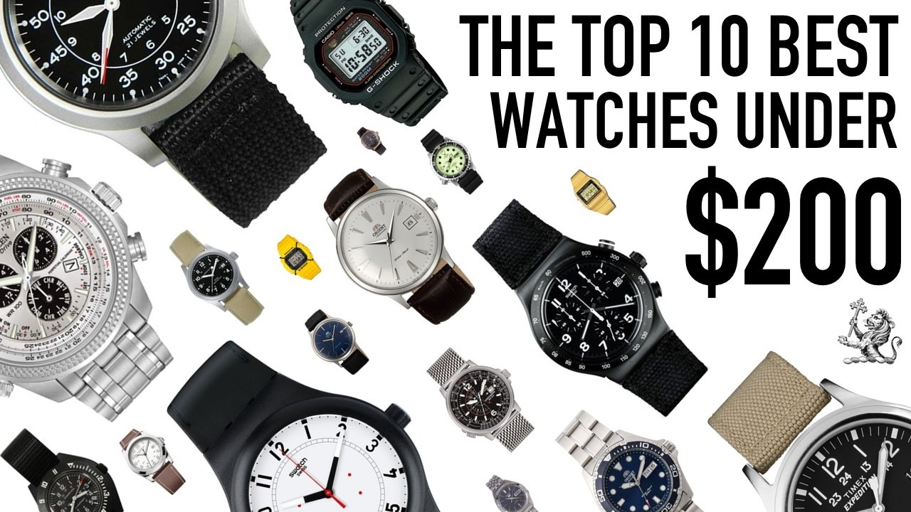 Top 10 Best Value For Money Watches From 50 To 200 Seiko