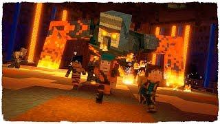 👉 ¡GOLEM DE LAVA GIGANTE! MINECRAFT STORY MODE 2
