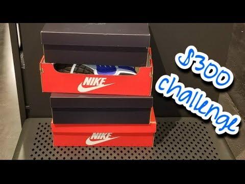 Nike Outlet Vlog  $300 CHALLENGE