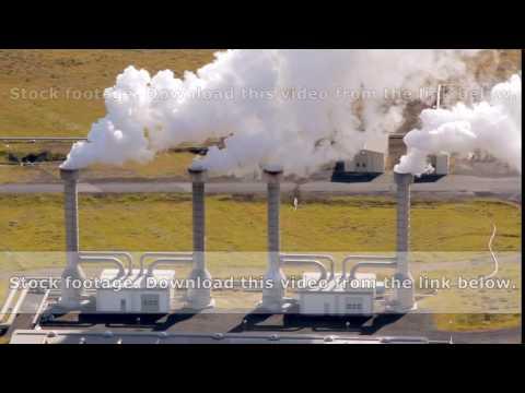 Reykjavik neighborhood: geothermal geothermal power station close up