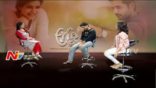 Samantha Opensup About Her Love Story    A Aa Movie   Nithin & Samantha Funny Chit Chat   NTV