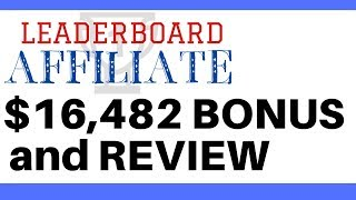 How To Make Money Online Leaderboard Affiliate Review And Bonuses