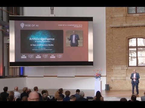 Dr.  Stefan Wess – Hype meets Reality | Rise of AI conference 2018