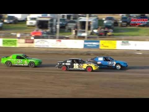 Dacotah Speedway IMCA Sport Compact Heats (8/24/18)