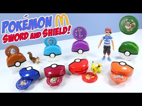Pokémon Sword And Shield McDonalds Happy Meal Toys Full Collection 2019