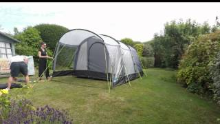 Kampa Hayling 4 Series 3 Tent Erection