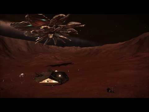 Elite: Dangerous - Double Unknown Ship at barnacles 3 - Pleiades Sector OI T C3 7 A6.