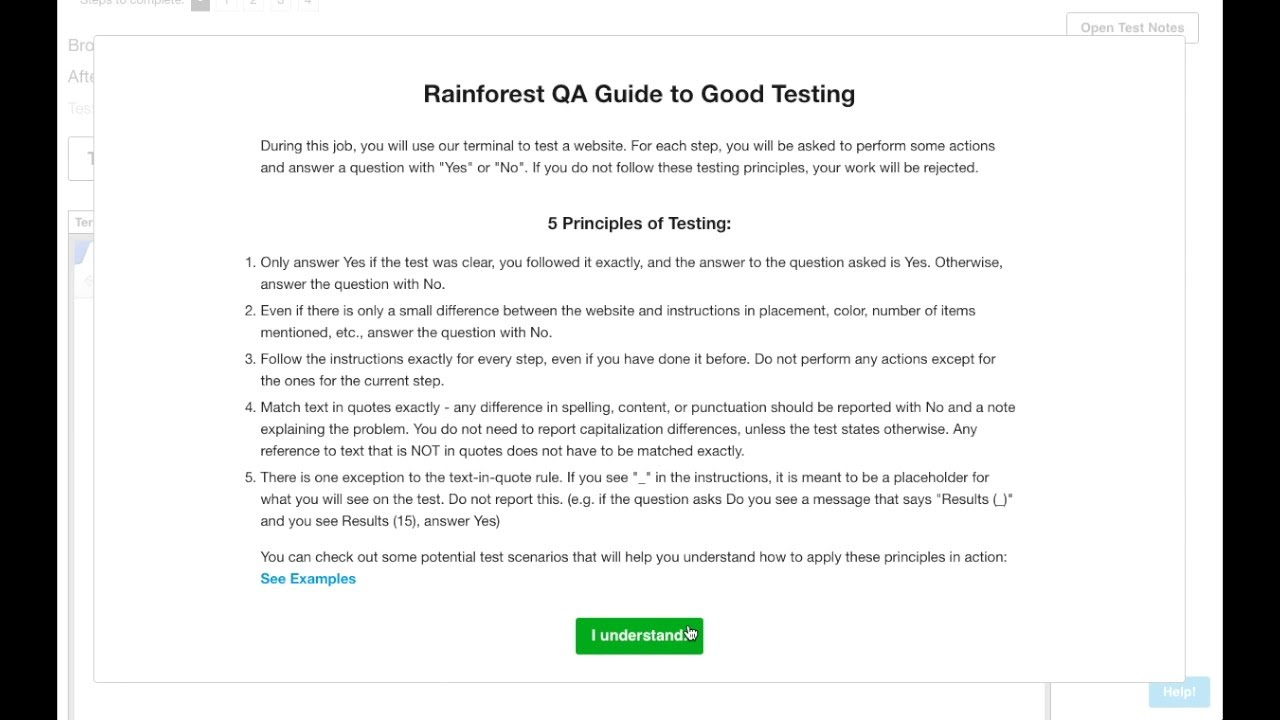 Rainforest Testing Tutorial 1: Introduction (13th May 2016)