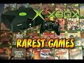 Top 10 Rarest Xbox Games | Most Valuable Xbox Games