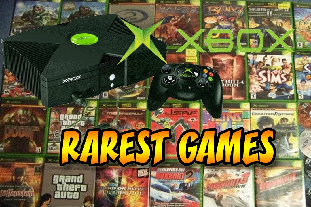 X Box Games For The Orginal : Top rarest xbox games most valuable youtube