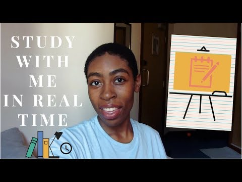 [REAL TIME] Study with me :) |University Library : Day 1