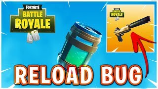 Silent Pistol Reload BUG in Fortnite: Battle Royale