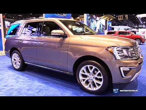 2018 Ford Expedition Limited - Exterior, Interior Walkaround - Debut at 2017 Chicago Auto Show