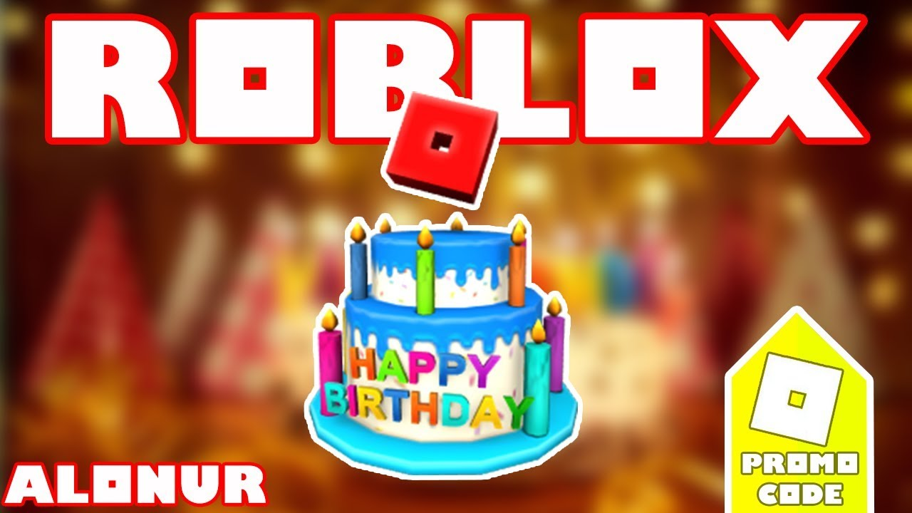 Roblox 12th Birthday Cake Hat
