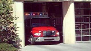 Lawrence - Douglas County Fire Medical (KS) Medic 1.mov
