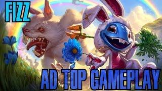 League of Legends - Fizz AD Top Gameplay - WHEPA COELHINHO [PT-BR]