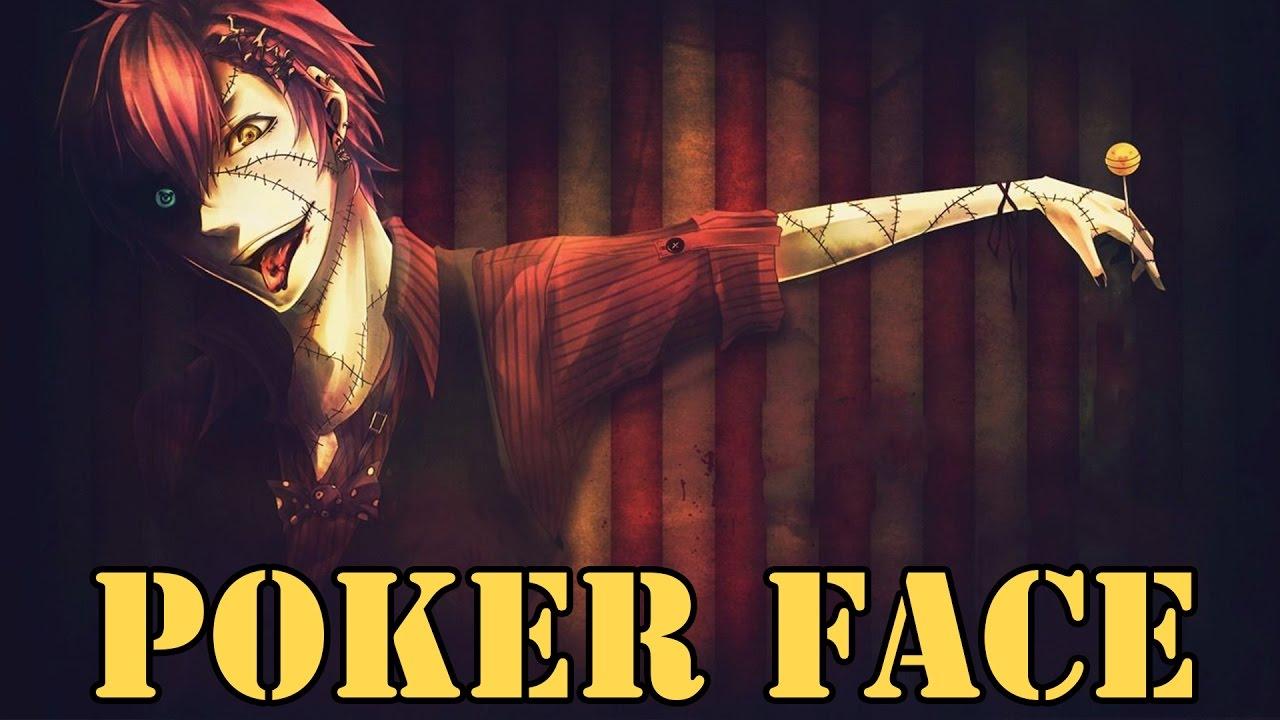 poker face nightcore male