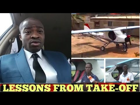 REASON WHY GHANA FIRST MADE AIRPLANE FAILED TO TAKE OFF😳😳 TEAM WORK - EVANGELIST ADDAI