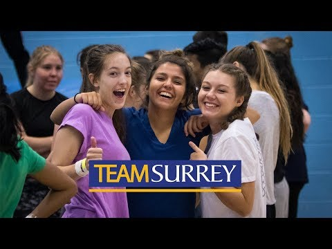 Play video: University of Surrey Sport & Physical Activity