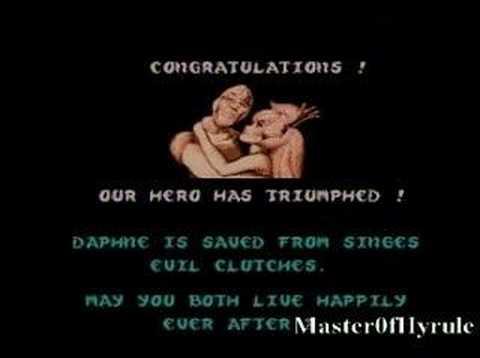 video game endings: