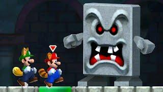 New Super Mario Bros. 2 - 100% Walkthrough - World Mushroom (2 Player)