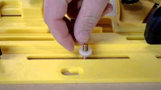 Microdial Tapering Jig Setup And Safety