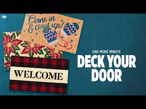 How To Deck Your Doorstep