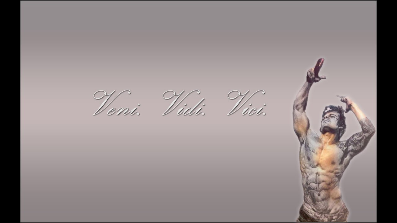 Zyzz Tattoo Veni Vidi Vici The Aesthetic Body