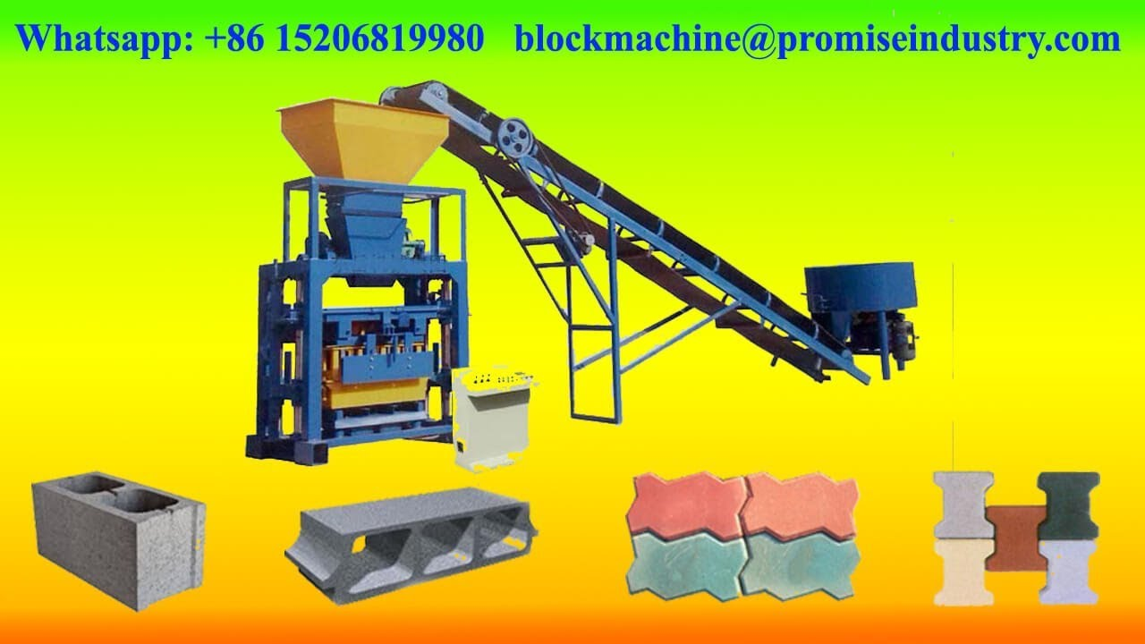 Qt40c 1 Cement Concrete Brick Paver Making Machine Road