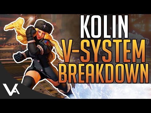 SFV - Kolin Trailer Breakdown! V-Skill, V-Trigger & Critical Art For Street Fighter 5 Season 2