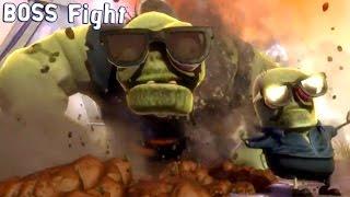 Plants vs Zombies: Garden Warfare 2 - Giga Gargantuar Boss Fight | Gameplay (PC HD) [1080p60FPS]