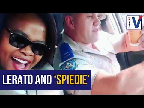 WATCH: North West traffic cops jam to Mandoza's Nkalakatha