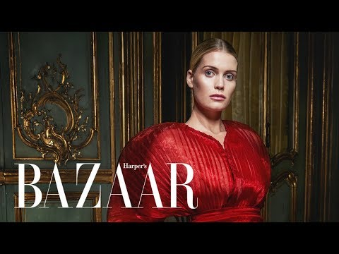 A Day in the Life of Lady Kitty Spencer    Harper's BAZAAR