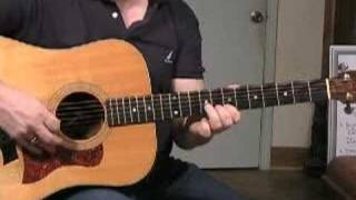 Blackberry Blossom Bluegrass Guitar Lesson